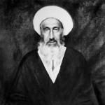 تمثال مبارک حضرت آیت الله العظمی میرزا محمدحسین غروی نائینی (ره)