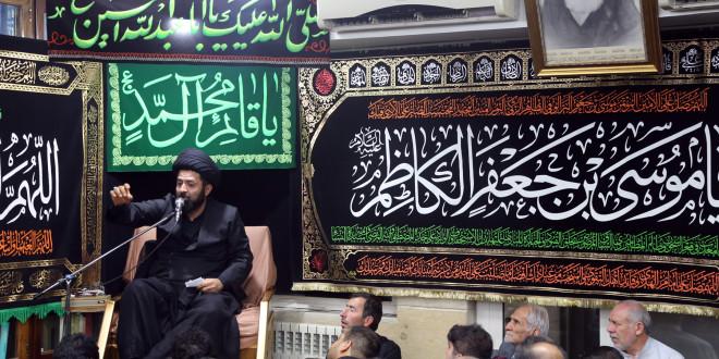 سخنرانی حجت الاسلام سیدرضا گلپایگانی در شب شهادت امام کاظم (ع) – ۲۴ رجب ۱۴۳۹ (۲۲ فروردین ۱۳۹۷)